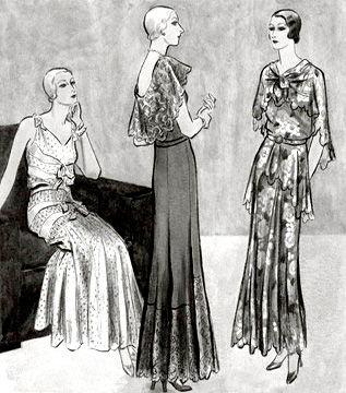 Мода 10-х, 20-х и 30-х годов XX века :: История костюма, доспеха ...
