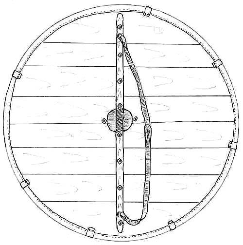 Круглый щит своими руками